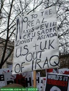 evil Bush crusades